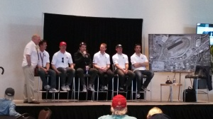 That's Dario on the right at a Q&A with Ganassi Racing before this year's Rolex 24.