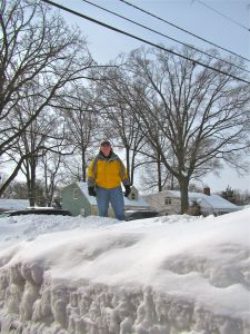 snow pile remedy