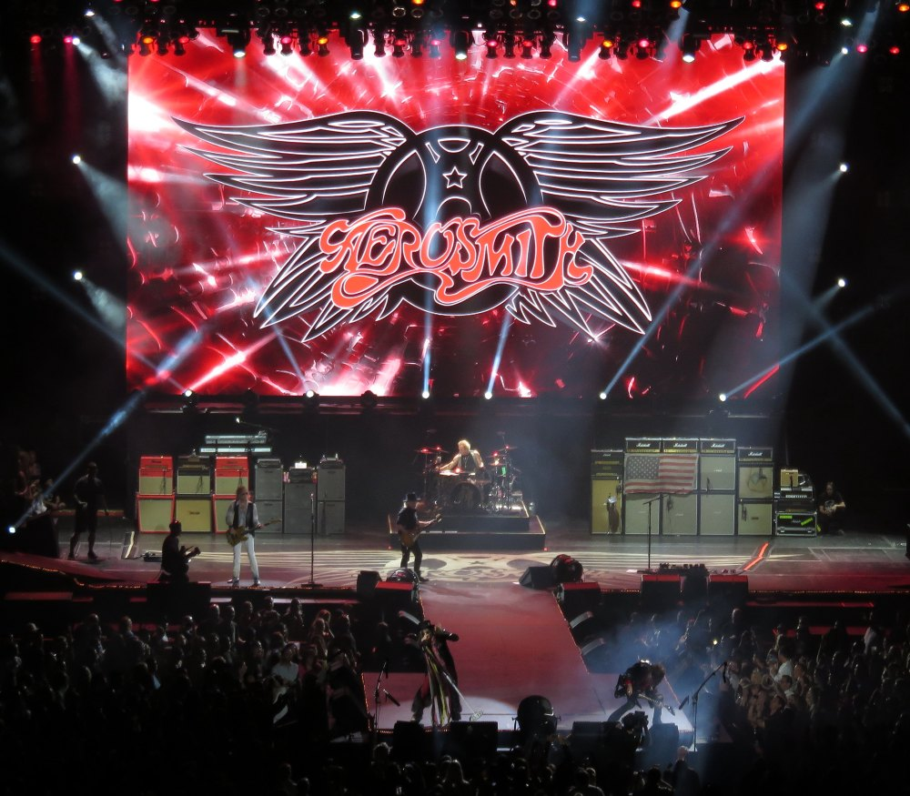 Aerosmith full stage