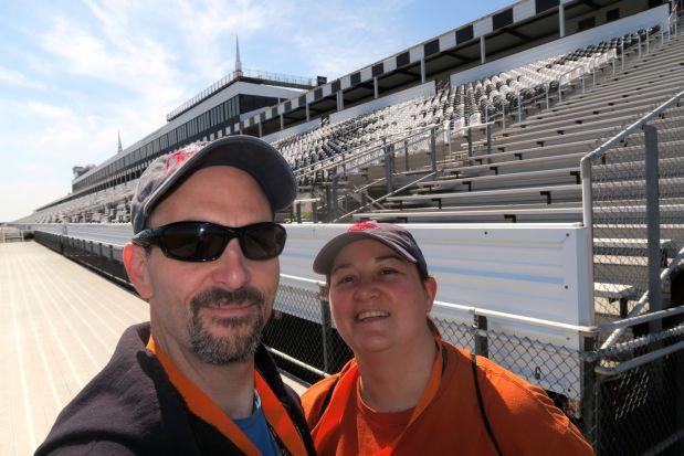 selfie grandstand